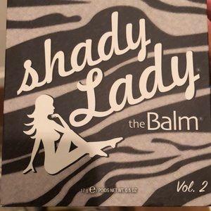 The Balm shady lady eyeshadow palette. New